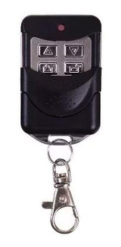 4pcs Controle Remoto Porta Aço Compativel Mega Atron 433mhz