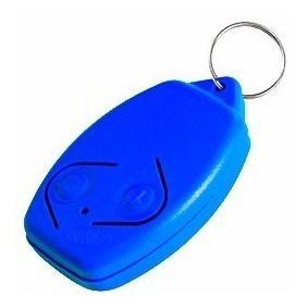 4pcs Controle Remoto Rossi Original Azul Portão Eletrônico 433mhz Kit Com 04 Unidades Segue Com Pilha