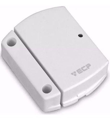 4pcs Sensor Alarme Ecp Sem Fio Para Portas Janelas Intruder