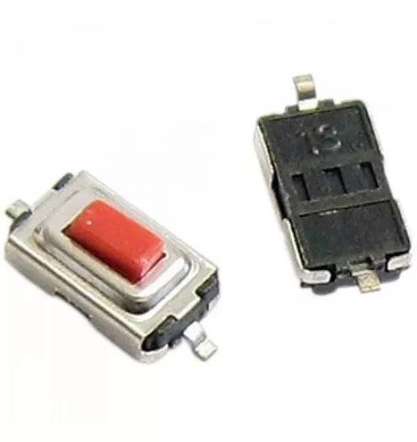 500pcs Botao Interruptor Smd Tactil Chave Controle Led