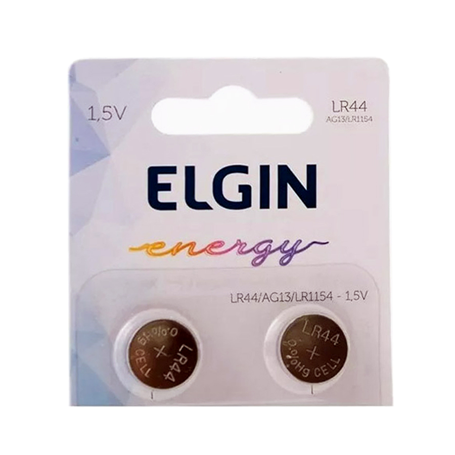 50pcs Bateria Lr44 Ag13 Lr1154 Elgin Pilha Alcalina Original