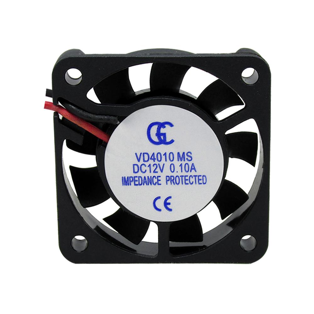 50pcs Ventilador Cooler Ventuinha Gc 40x40x10mm 12v Fan Nova Qualidade Nota Fiscal