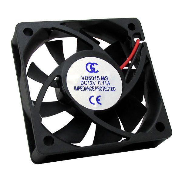 50pcs Ventilador Cooler Ventuinha Gc 60x60x15mm 12v Nova