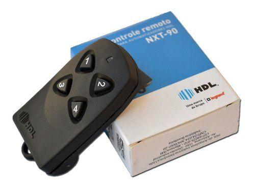 Controle Remoto Hdl Portão Eletrônico 433 Mhz Nxt 90 4 Tecla