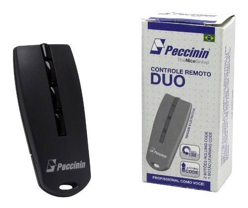 Controle Remoto Digital Duo Peccinin - Portão E Alarme