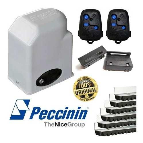 Kit Motor Para Portão Eletrônico Dz 1/3hp Light Peccinin 500