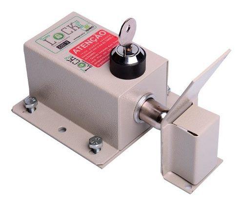 Trava Portao Automatico Basculante Ipec Lock Ppa Garen 110v