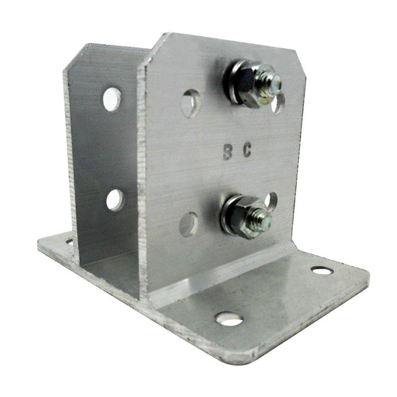 5pc Big Haste Cerca Elétrica 23x23 1mt 6 Isoladores Suporte