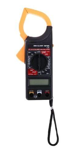 5pcs Alicate Amperímetro Digital 266 Estojo Com Bateria 9v