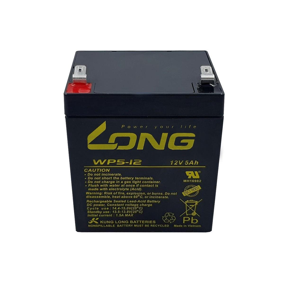 5pcs Bateria 12v 5a Long Nobreak Sms Apc Wp5-12