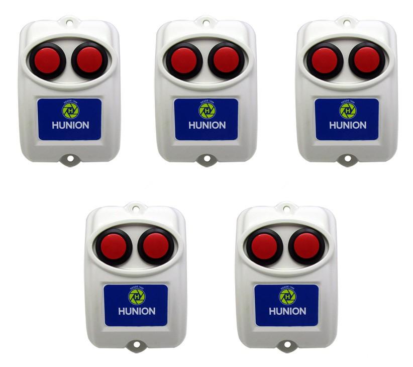 5pçs Botoeira Dupla Sem Fio Dois Botões Sem Fio 433mhz Para Fechadura Motor De Portao Alarme Cftv 5 Unidades