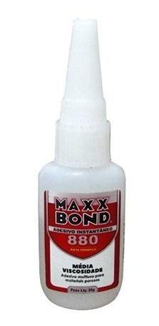 5pcs Cola Instantanea Maxx Bond 880 20g Pequena Unidade
