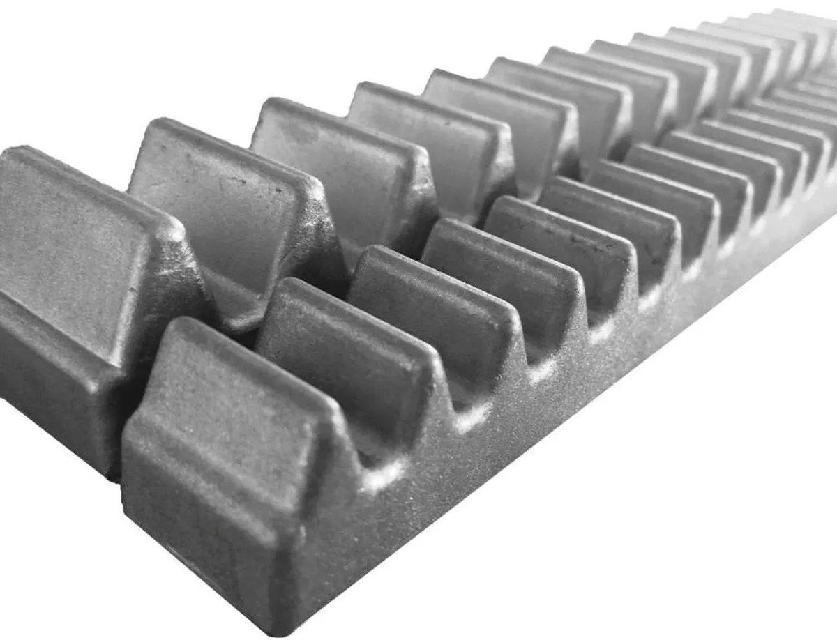 5pcs Gomo Peccinin Aluminio Dz Gatter Light Super Original Para Cremalheira 30cm 05 Unidades De 30cm Total 1,50mts