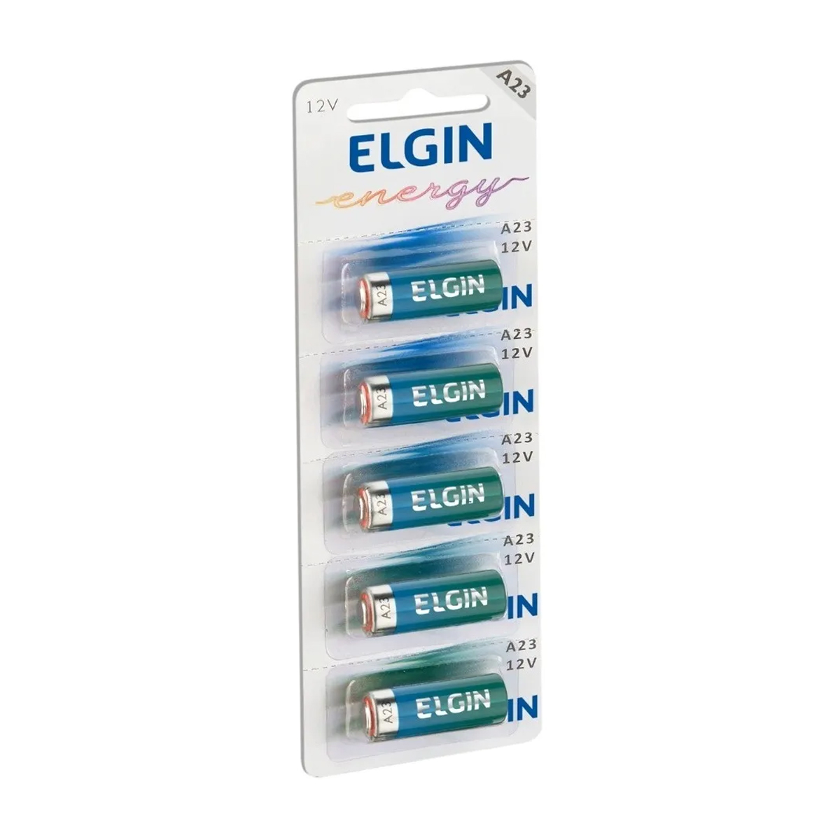 5pcs Pilha 12v A23 Elgin Original Controle Portão Alarme