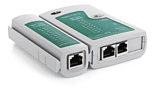 5pcs Testador Teste Cabo Rede Lan Rj45 Rj11 Telefonia + Capa