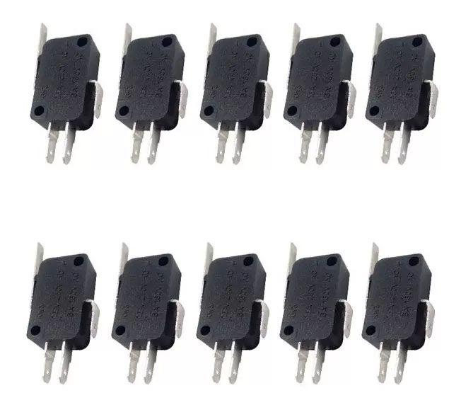 60pcs Micro Switch Chave Fim De Curso Alavanca Haste 27mm