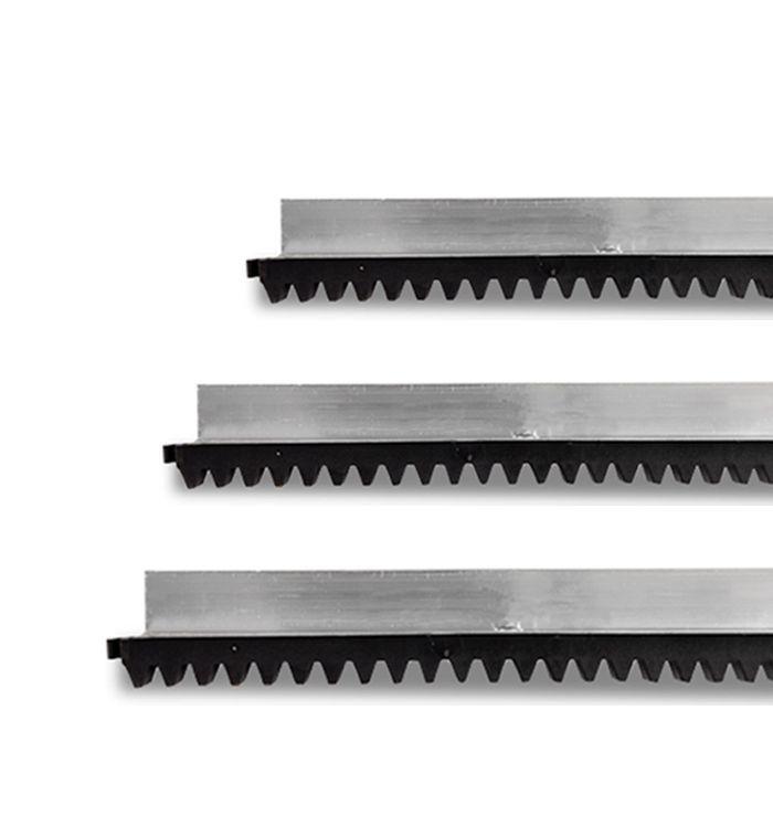6mts Cremalheira Aluminio Portão Litoral Ppa Garen Seg Rcg