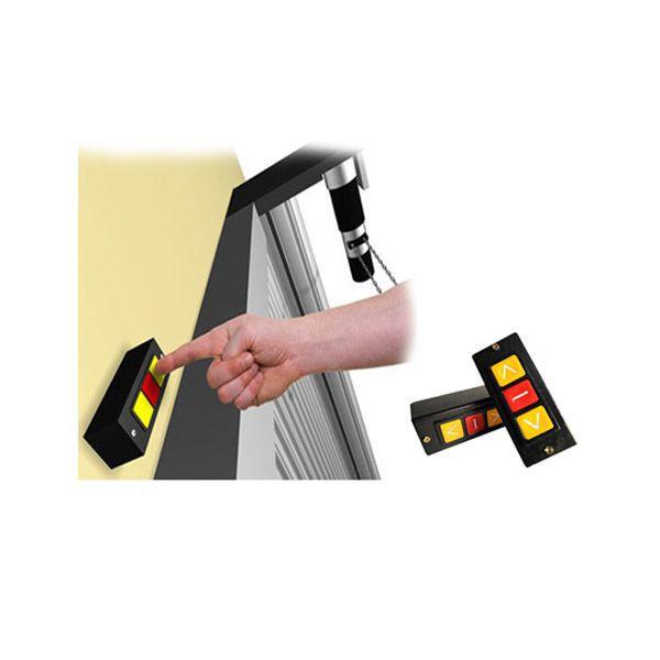 6pcs Botoeira Botao Automatizadores Porta Aco Enrolar