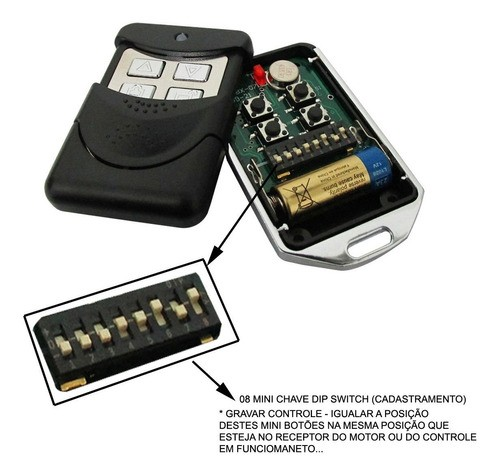 6pcs Controle Remoto Porta Aco Mega Atron Aproveite