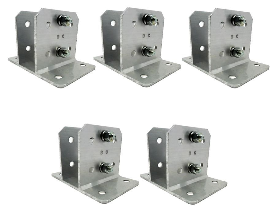 6pcs Suporte Alumínio P Haste Industrial E Big Haste 25x25
