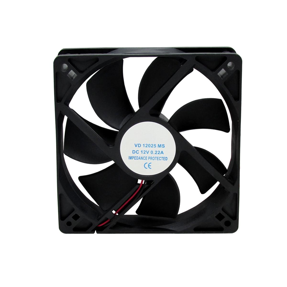 6pcs Ventilador Cooler Ventoinha Fan 120x120x25mm 12v
