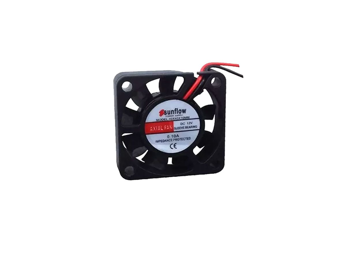 6pcs Ventilador Cooler Ventuinha Fan 40x40x10 12 Volts