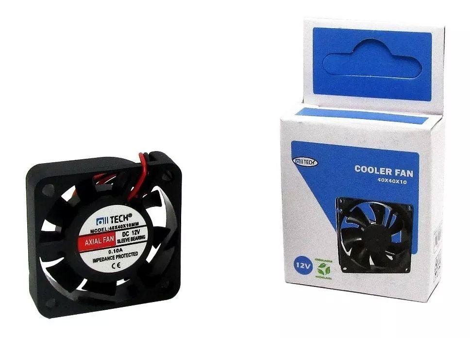 6pcs Ventilador Cooler Ventuinha Fan 40x40x10 12 Volts