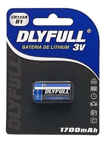 8pcs Bateria Pilha 3v Cr123a-b1 Dlyfull Original