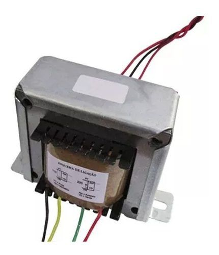 Transformador Trafo 25+25v 5a Bivolt Eletronica