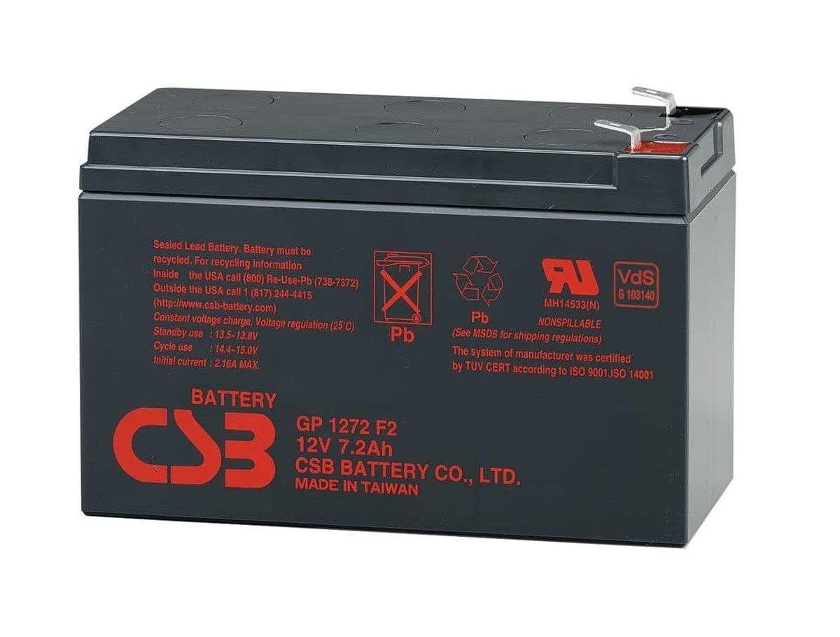 Bateria Csb 12v 7ah Gp1272 F2 Apc Alarmes No Breaks