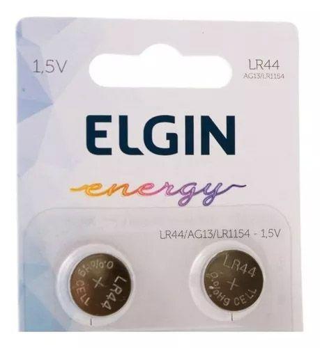 Bateria Elgin Lr44 1.5v Com 10 Unidades Ag13 Lr1154