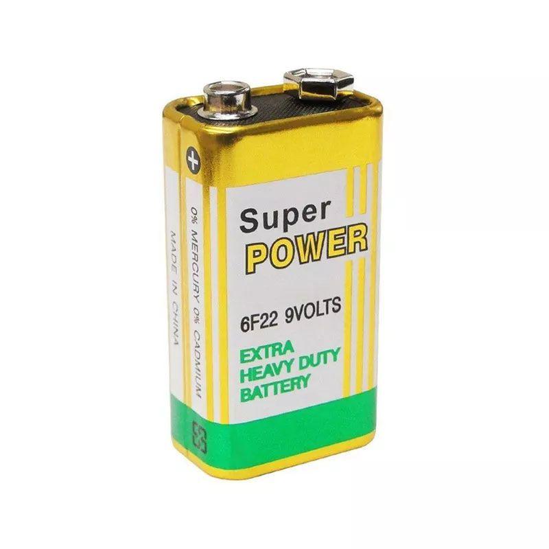 Bateria Pilha 9v Super Power Original Nota Fiscal