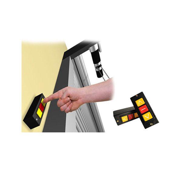 Botoeira Botao Automatizadores Porta Aco Enrolar Automática