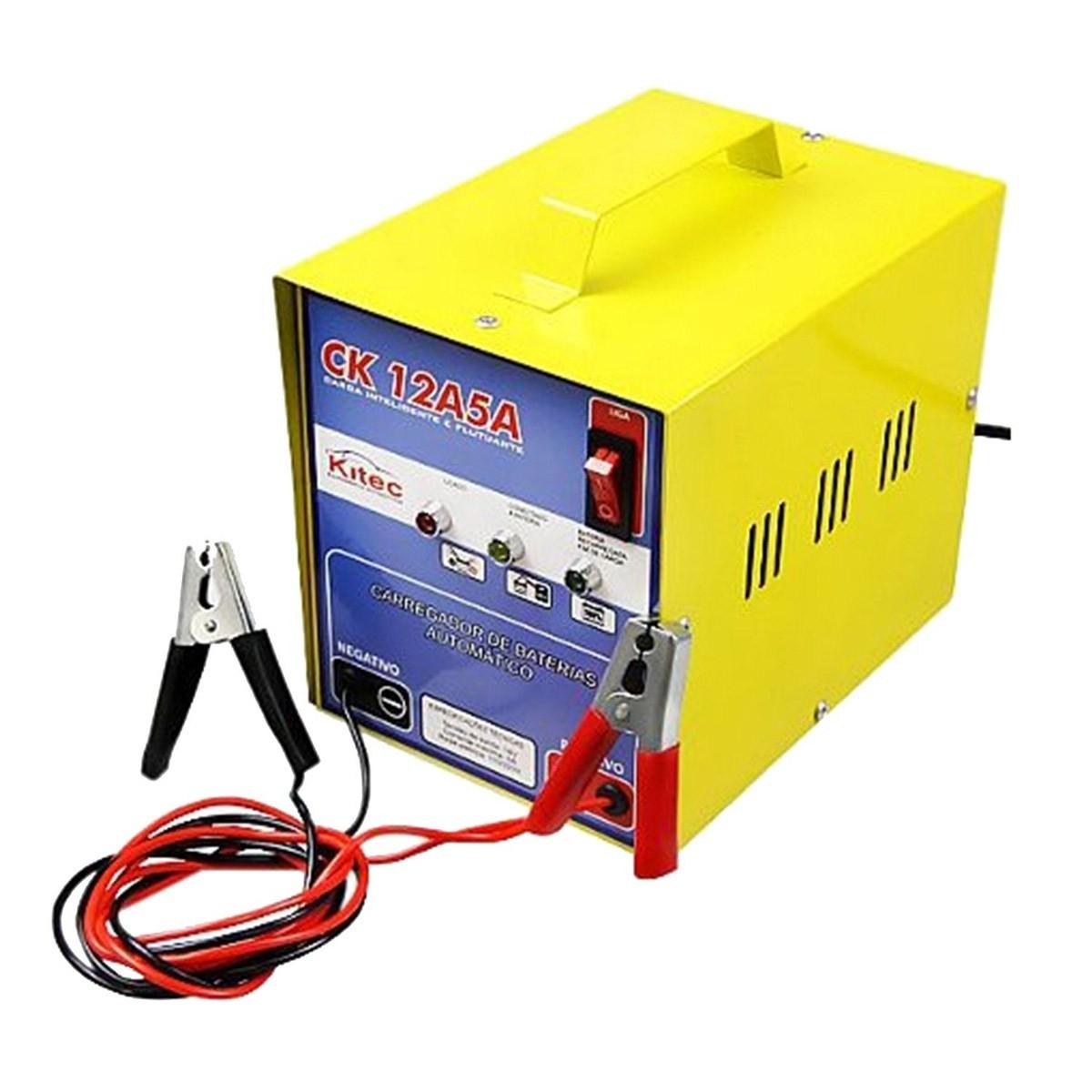 Carregador De Baterias 12v 5amper Ck12a5a C/ Flutuação 8103