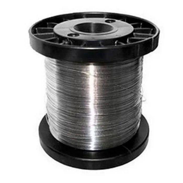 Carretel Arame Aço Inox Cerca Eletrica Fio 0,90mm 150mts