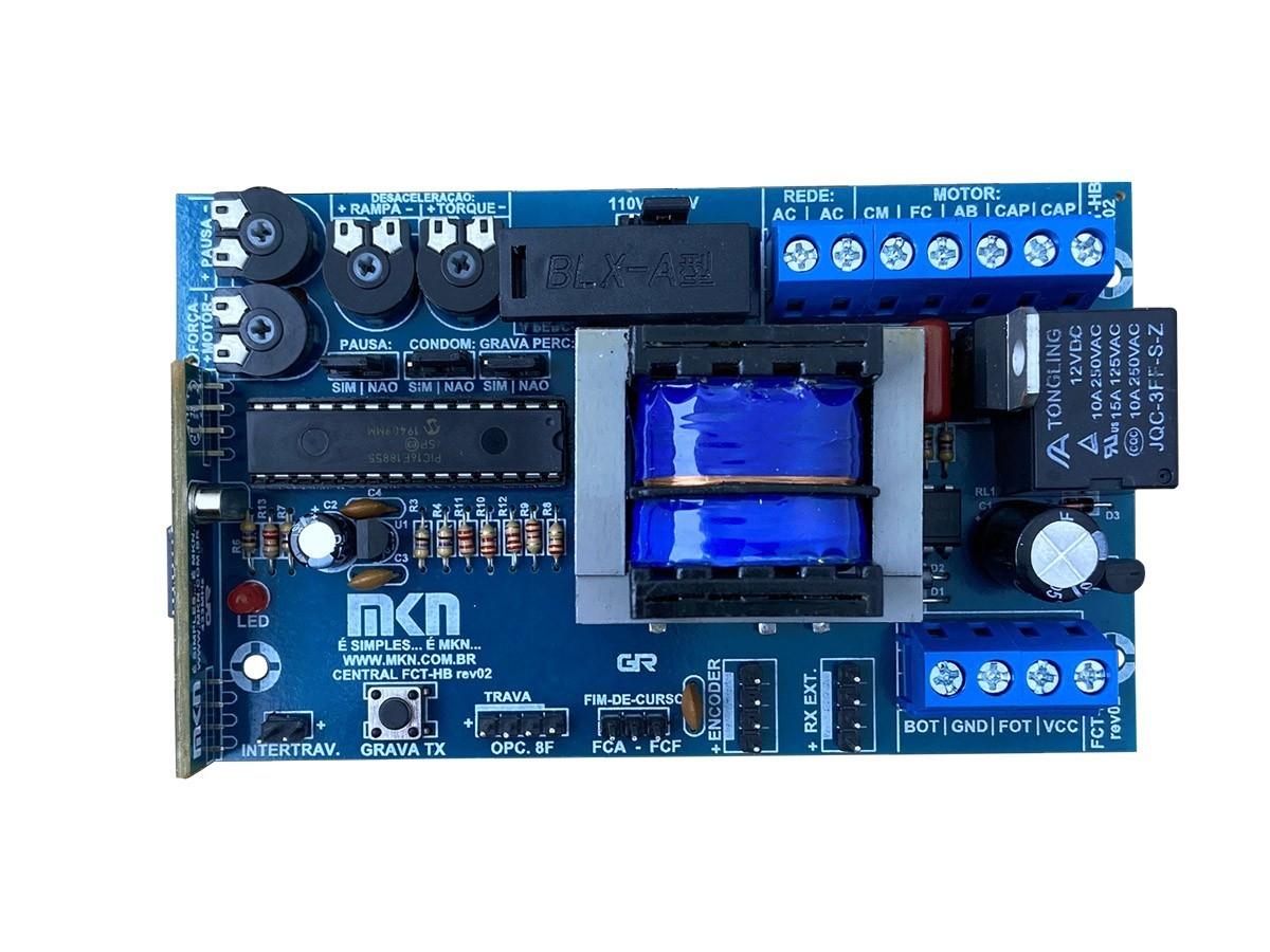 Central Comando Portao Eletronico Ppa Encoder 4 Trimpotes