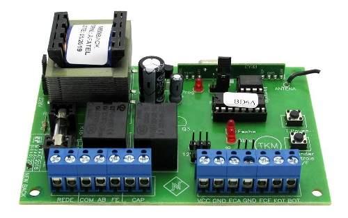 Central New Back Nb64g Garen Portao Automatico 2 Controles