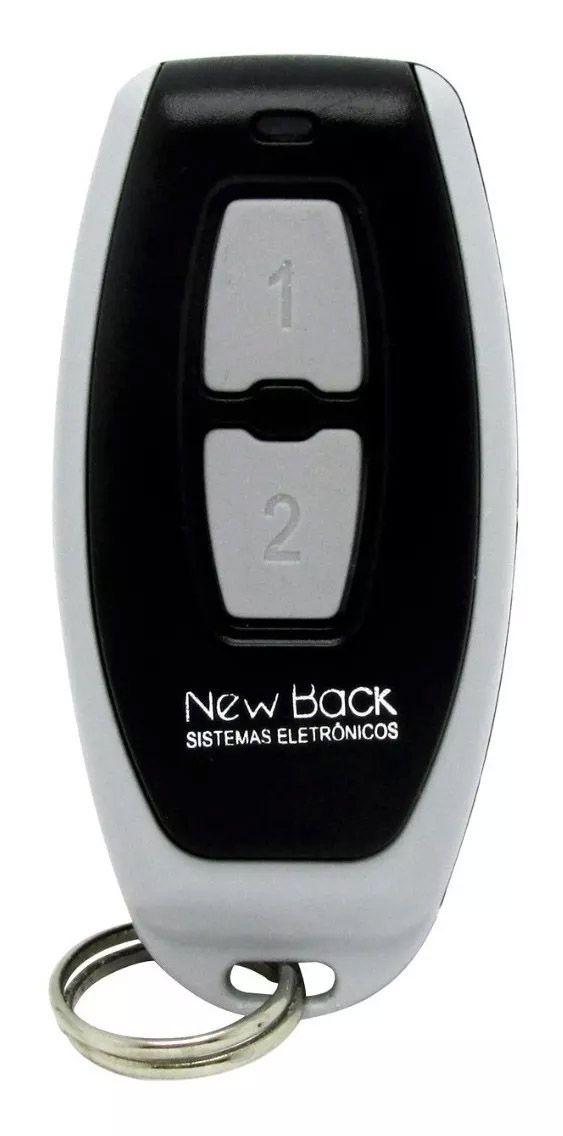 Central New Back Portao Automatico Placa Comando Garen + 02 Controle Remoto New Back 433mhz Garen Gme