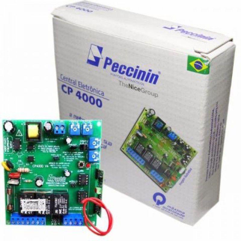 Central Placa Peccinin Original Cp4000 Para Motor De Portão