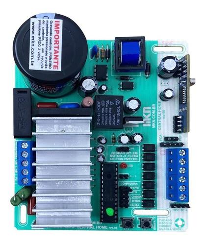 Central Portão Eletrônico Mkn Aceleradora Home 433mhz