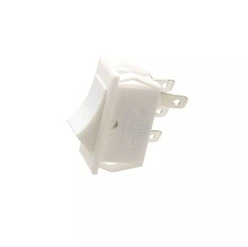 Chave Gangorra 3 Posições 4 Pinos Branca Kcd18