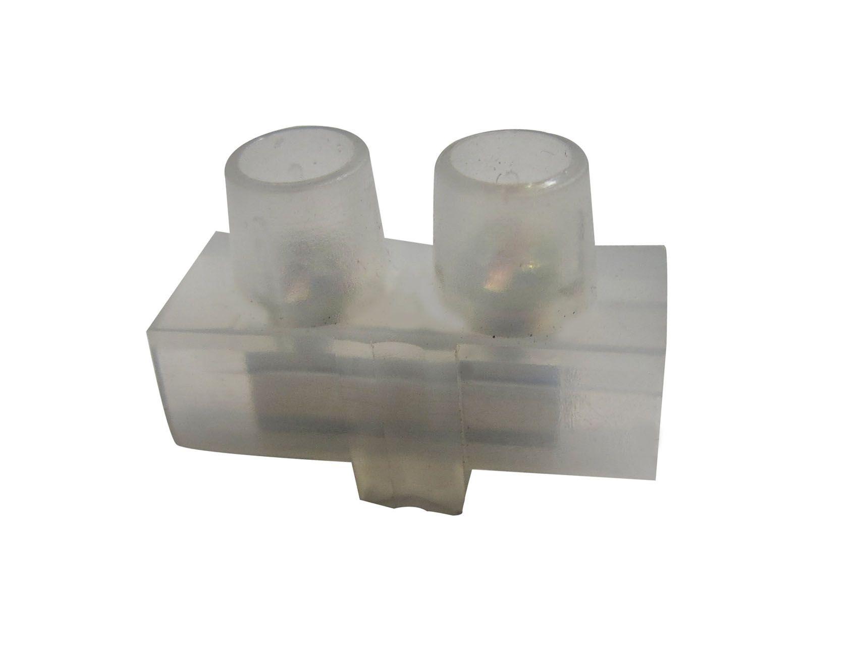 Conector 01 saída 15 e 20 amperes Eletrofita - Avulso