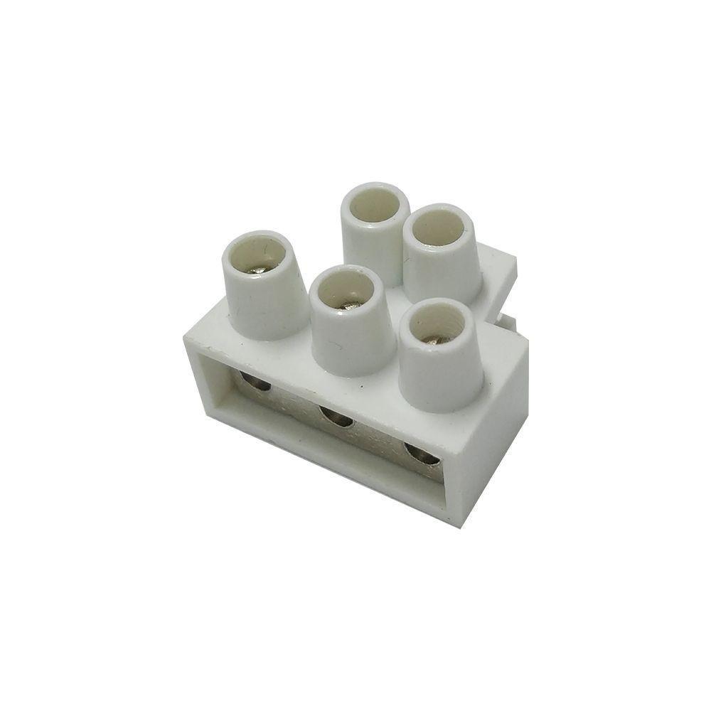 Conector 03 saidas 20 amperes Eletrofita - Avulso