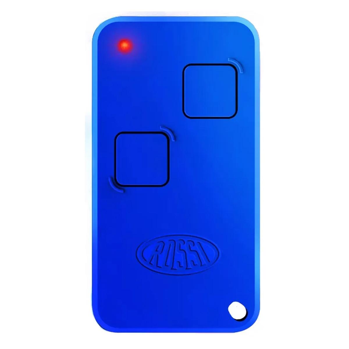 Controle Remoto Para Portão Eletrônico Rossi Ntx 433 Mhz Hcs Azul