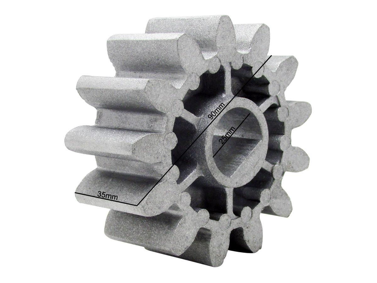 Coroa Engrenagem Externa Motor Peccinin Dz Max 13 Dentes