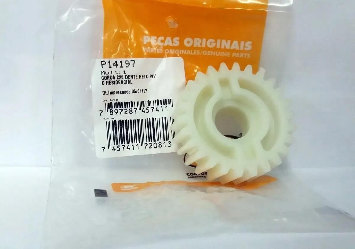 Coroa Engrenagem Interna Ppa Nylon Z26 Dentes Reto 26 Dentes