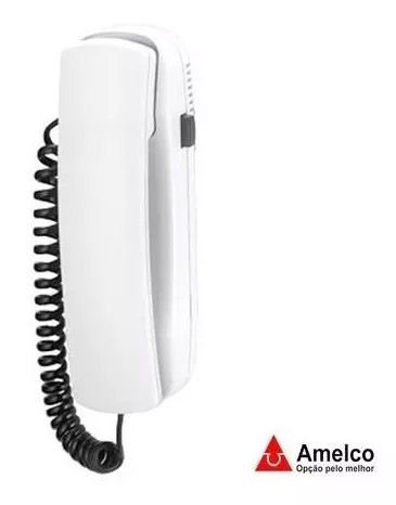 Interfone Amelco Ic65 Para Porteiro Coletivo Predial