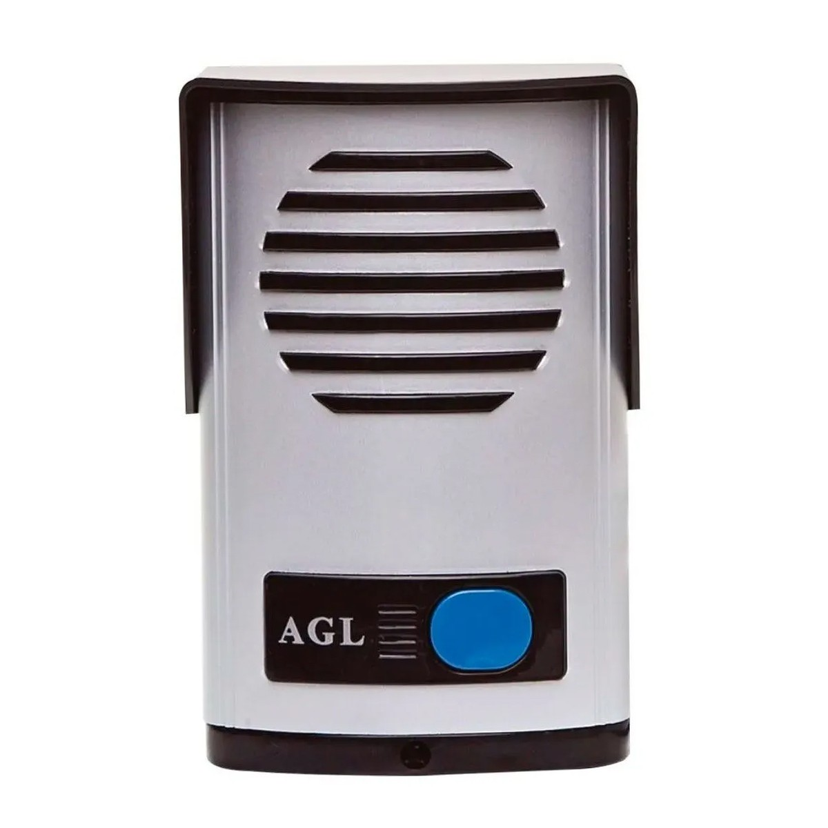 Interfone Porteiro Eletronico Prata Agl P10 S Residencial