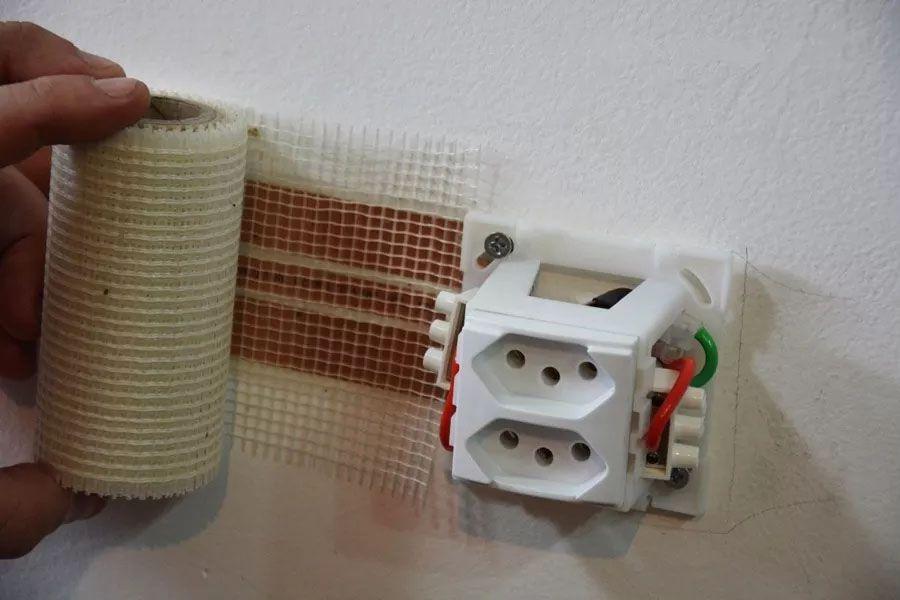 Kit Fita Elétrica Eletrofita 2 Pistas 5 Metros 750v/15amp
