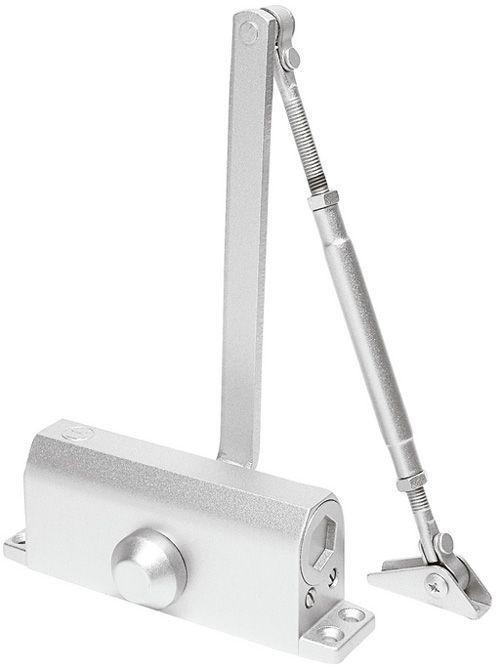 Kit Mola Para Porta De Vidro Aérea Soprano F4 85kgs Mais Suporte